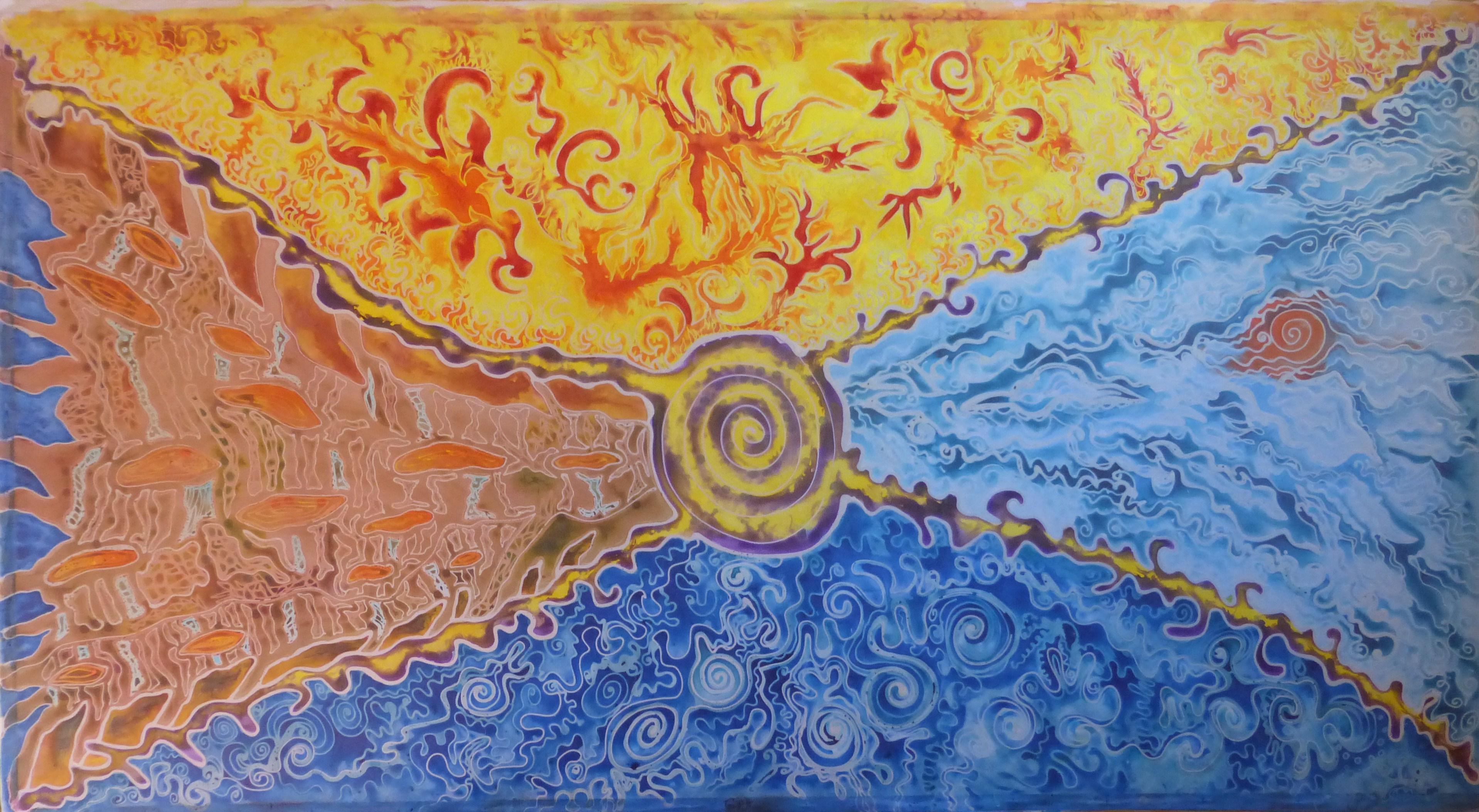 Four Elements Art : Four elements u2013 batik art